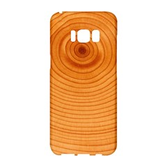 Rings Wood Line Samsung Galaxy S8 Hardshell Case