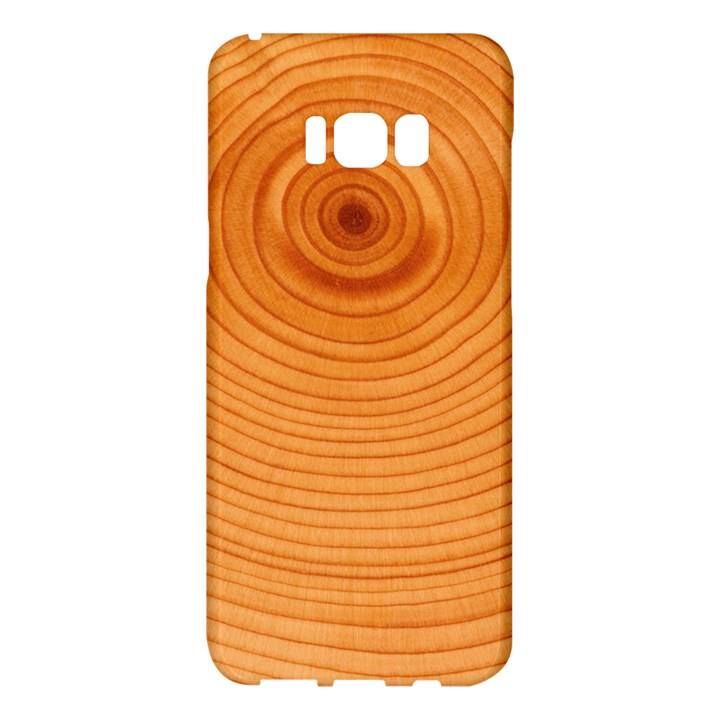Rings Wood Line Samsung Galaxy S8 Plus Hardshell Case