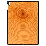 Rings Wood Line Apple iPad Pro 9.7   Black Seamless Case Front