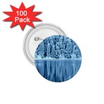 Snowy Forest Reflection Lake 1.75  Buttons (100 pack)  Front