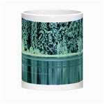 Snowy Forest Reflection Lake Night Luminous Mugs Center