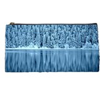Snowy Forest Reflection Lake Pencil Cases Front