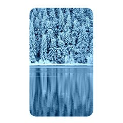Snowy Forest Reflection Lake Memory Card Reader (rectangular) by Alisyart