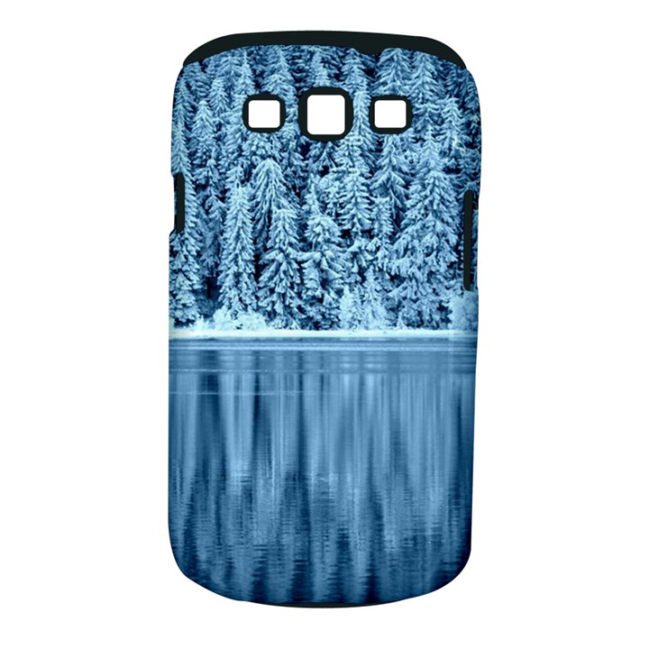 Snowy Forest Reflection Lake Samsung Galaxy S III Classic Hardshell Case (PC+Silicone)