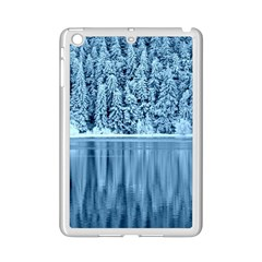 Snowy Forest Reflection Lake Ipad Mini 2 Enamel Coated Cases