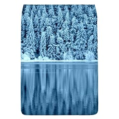 Snowy Forest Reflection Lake Removable Flap Cover (l)