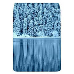 Snowy Forest Reflection Lake Removable Flap Cover (s)