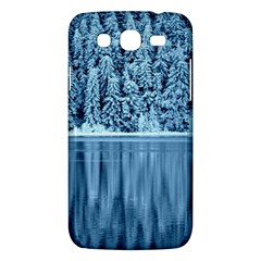 Snowy Forest Reflection Lake Samsung Galaxy Mega 5 8 I9152 Hardshell Case