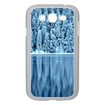 Snowy Forest Reflection Lake Samsung Galaxy Grand DUOS I9082 Case (White) Front