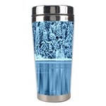 Snowy Forest Reflection Lake Stainless Steel Travel Tumblers Center