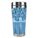 Snowy Forest Reflection Lake Stainless Steel Travel Tumblers Right