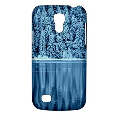 Snowy Forest Reflection Lake Samsung Galaxy S4 Mini (gt I9190) Hardshell Case  by Alisyart