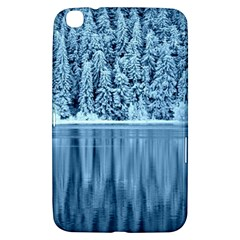 Snowy Forest Reflection Lake Samsung Galaxy Tab 3 (8 ) T3100 Hardshell Case