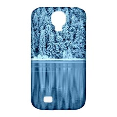 Snowy Forest Reflection Lake Samsung Galaxy S4 Classic Hardshell Case (pc+silicone)