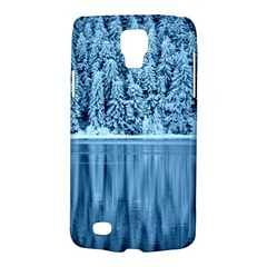 Snowy Forest Reflection Lake Samsung Galaxy S4 Active (i9295) Hardshell Case