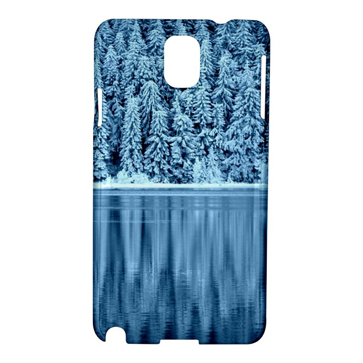 Snowy Forest Reflection Lake Samsung Galaxy Note 3 N9005 Hardshell Case