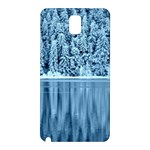 Snowy Forest Reflection Lake Samsung Galaxy Note 3 N9005 Hardshell Back Case Front
