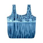 Snowy Forest Reflection Lake Full Print Recycle Bag (M) Back