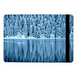 Snowy Forest Reflection Lake Samsung Galaxy Tab Pro 10.1  Flip Case Front