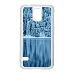 Snowy Forest Reflection Lake Samsung Galaxy S5 Case (White) Front