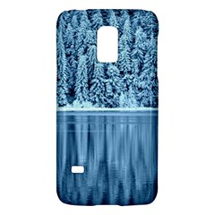 Snowy Forest Reflection Lake Samsung Galaxy S5 Mini Hardshell Case  by Alisyart