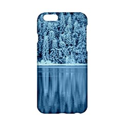 Snowy Forest Reflection Lake Apple Iphone 6/6s Hardshell Case
