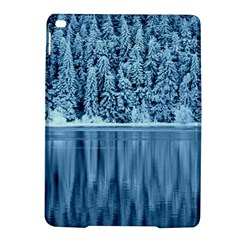Snowy Forest Reflection Lake Ipad Air 2 Hardshell Cases