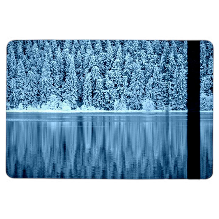 Snowy Forest Reflection Lake iPad Air 2 Flip