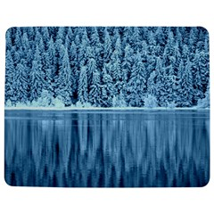 Snowy Forest Reflection Lake Jigsaw Puzzle Photo Stand (rectangular)