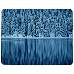 Snowy Forest Reflection Lake Jigsaw Puzzle Photo Stand (Rectangular) Front