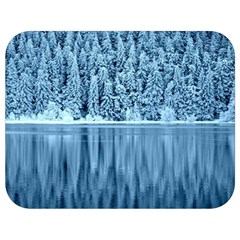Snowy Forest Reflection Lake Full Print Lunch Bag