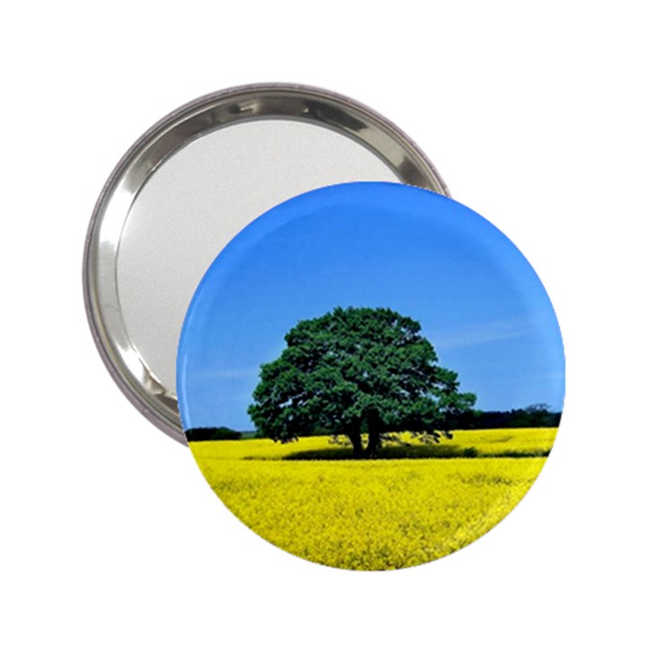 Tree In Field 2.25  Handbag Mirrors