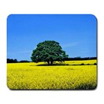 Tree In Field Large Mousepads Front