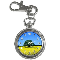 Tree In Field Key Chain Watches