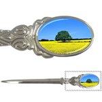 Tree In Field Letter Opener Front