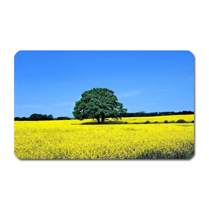 Tree In Field Magnet (Rectangular)