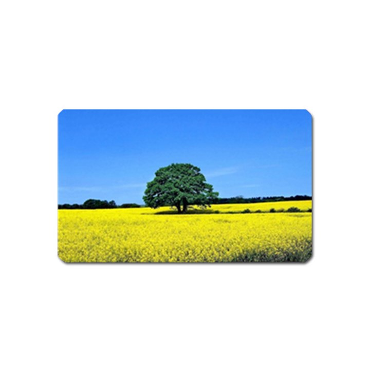 Tree In Field Magnet (Name Card)