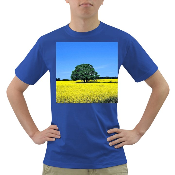 Tree In Field Dark T-Shirt