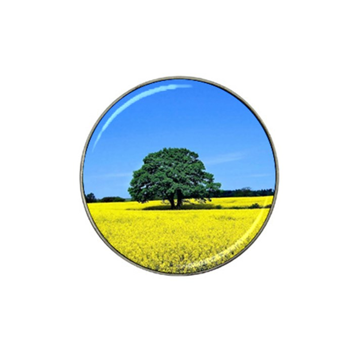 Tree In Field Hat Clip Ball Marker (10 pack)