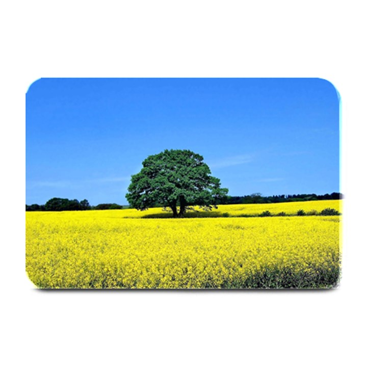 Tree In Field Plate Mats