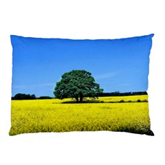 Tree In Field Pillow Case