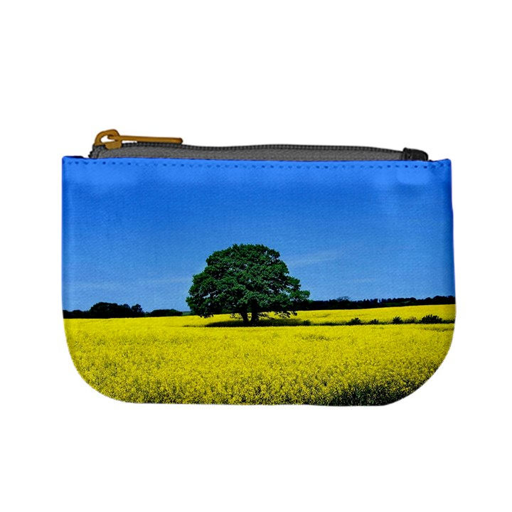 Tree In Field Mini Coin Purse