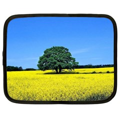 Tree In Field Netbook Case (xxl)