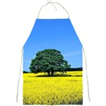Tree In Field Full Print Aprons Front