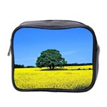 Tree In Field Mini Toiletries Bag (Two Sides) Front