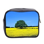 Tree In Field Mini Toiletries Bag (Two Sides) Back