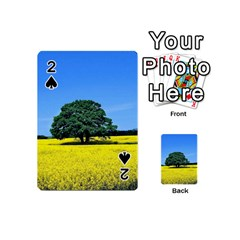Tree In Field Playing Cards 54 (mini)