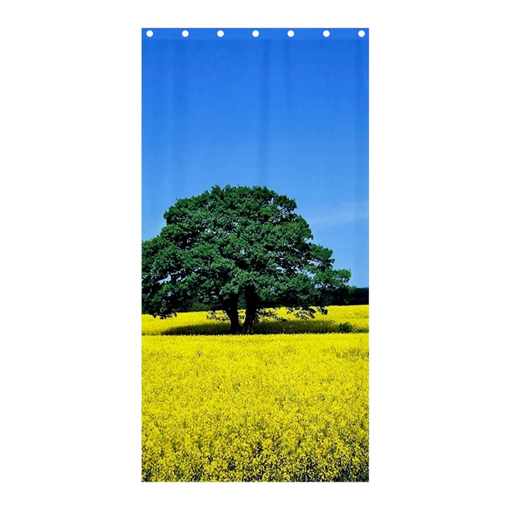 Tree In Field Shower Curtain 36  x 72  (Stall)