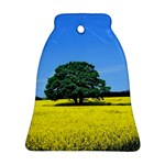 Tree In Field Ornament (Bell) Front