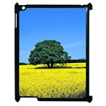 Tree In Field Apple iPad 2 Case (Black) Front